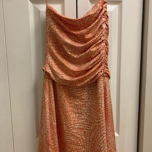Susana Mónaco Strapless Cocktail Dress